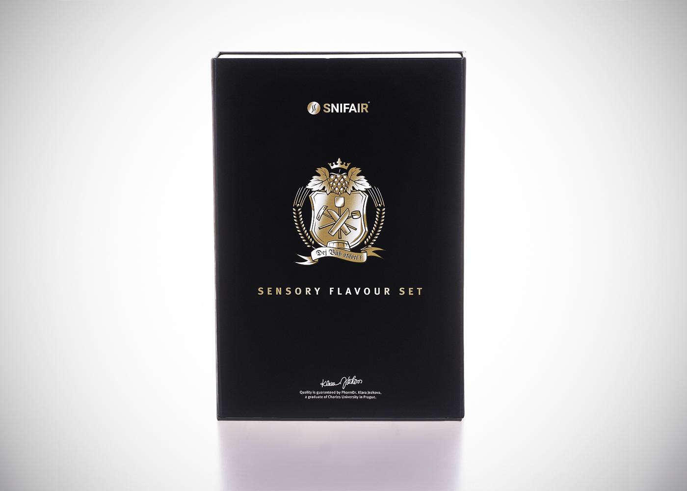 Snifair - sensory flavour set